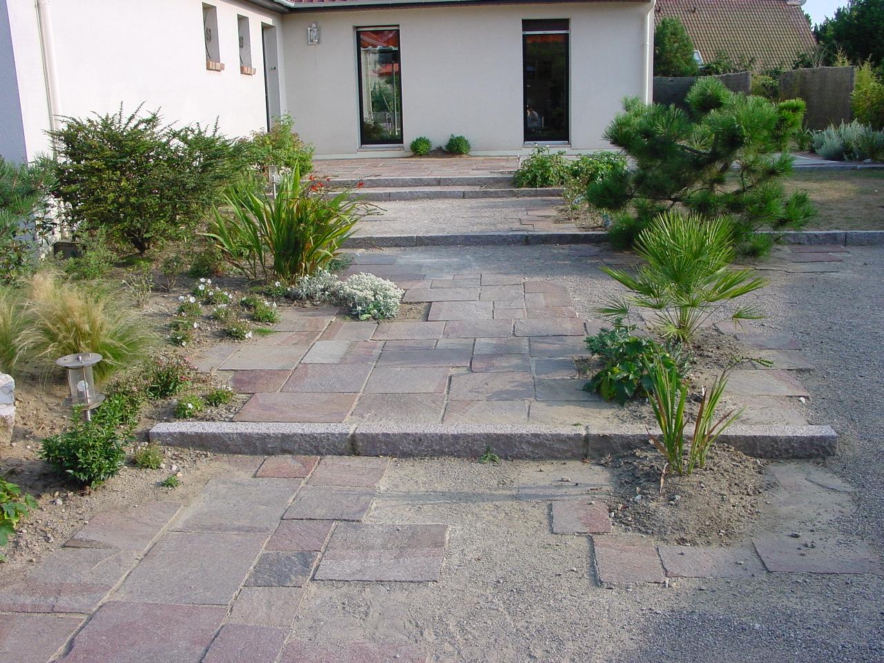 Les plans en Ligne, pour vos projets de terrasses, accès, parkings ...