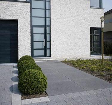 dalle gazon b ton 50x50cm coloris gris gedimat fr pictures. Black Bedroom Furniture Sets. Home Design Ideas