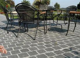 Terrasse en pierre naturelle et b ton catalogue de nos for Terrasse bois et pave