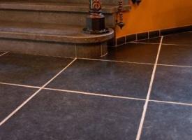 Carrelage calcaire gris noir origine europe asie chine for Carrelage terre cuite belgique
