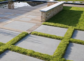 Dalle & dallage en pierre pour terrasse et jardin extérieur ...