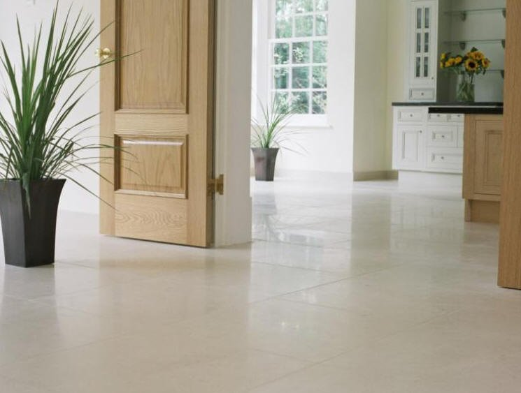 Carrelage dalle en pierre blanche portugal espagne - Dalle de sol autocollante ...