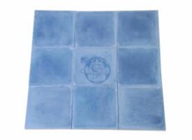 carreau ciment marocain bleu - Carrelage Sol Bleu Turquoise