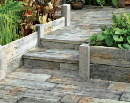 Decore Marche Escalier Jardin