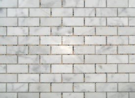 Mosaique marbre carrara cd vieilli Type B