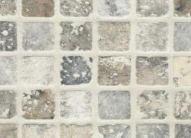 Mosaique travertin grey rustique vieilli 23x23