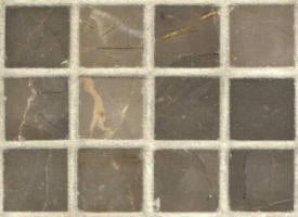 Mosaique marbre Mona brown adouci 20x20