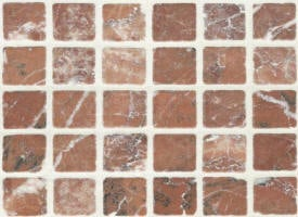 Mosaique marbre burdur rose 23x23