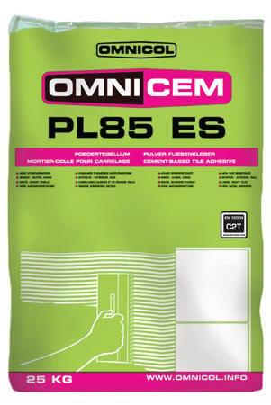 Colle pour plaquettes et briques de chez Omnicol - Omnicem PL85 ES