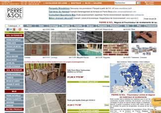 notre nouveau site pierre et sol juin 2013 cadeau et bon de r duction avec pierre et sol. Black Bedroom Furniture Sets. Home Design Ideas