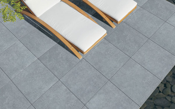 dalle en c ramique pierre bleue mega c rame pierre et. Black Bedroom Furniture Sets. Home Design Ideas