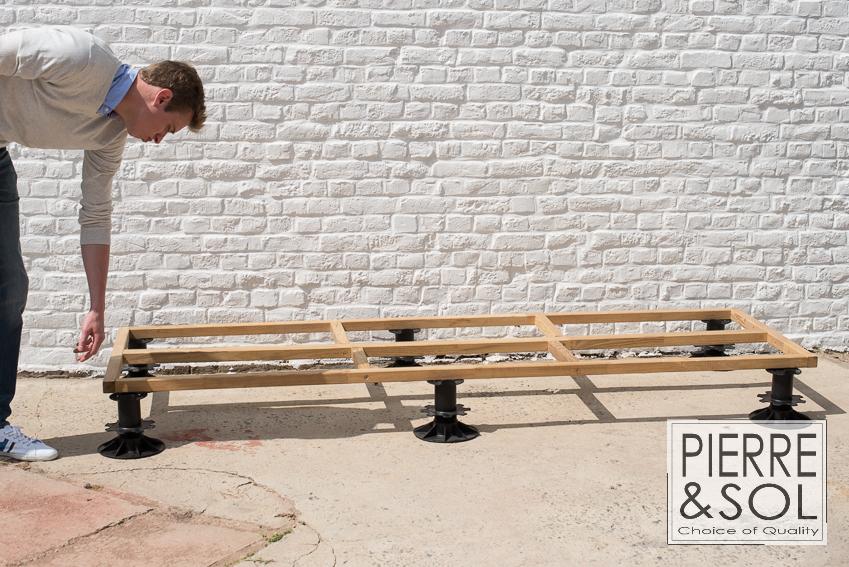 photos de plots pour terrasse bc buzon. Black Bedroom Furniture Sets. Home Design Ideas