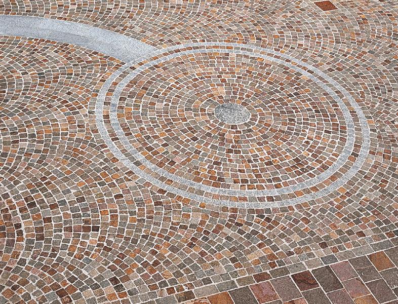 Pav s en porphyre d 39 italie pierre et sol for Fournisseur carrelage