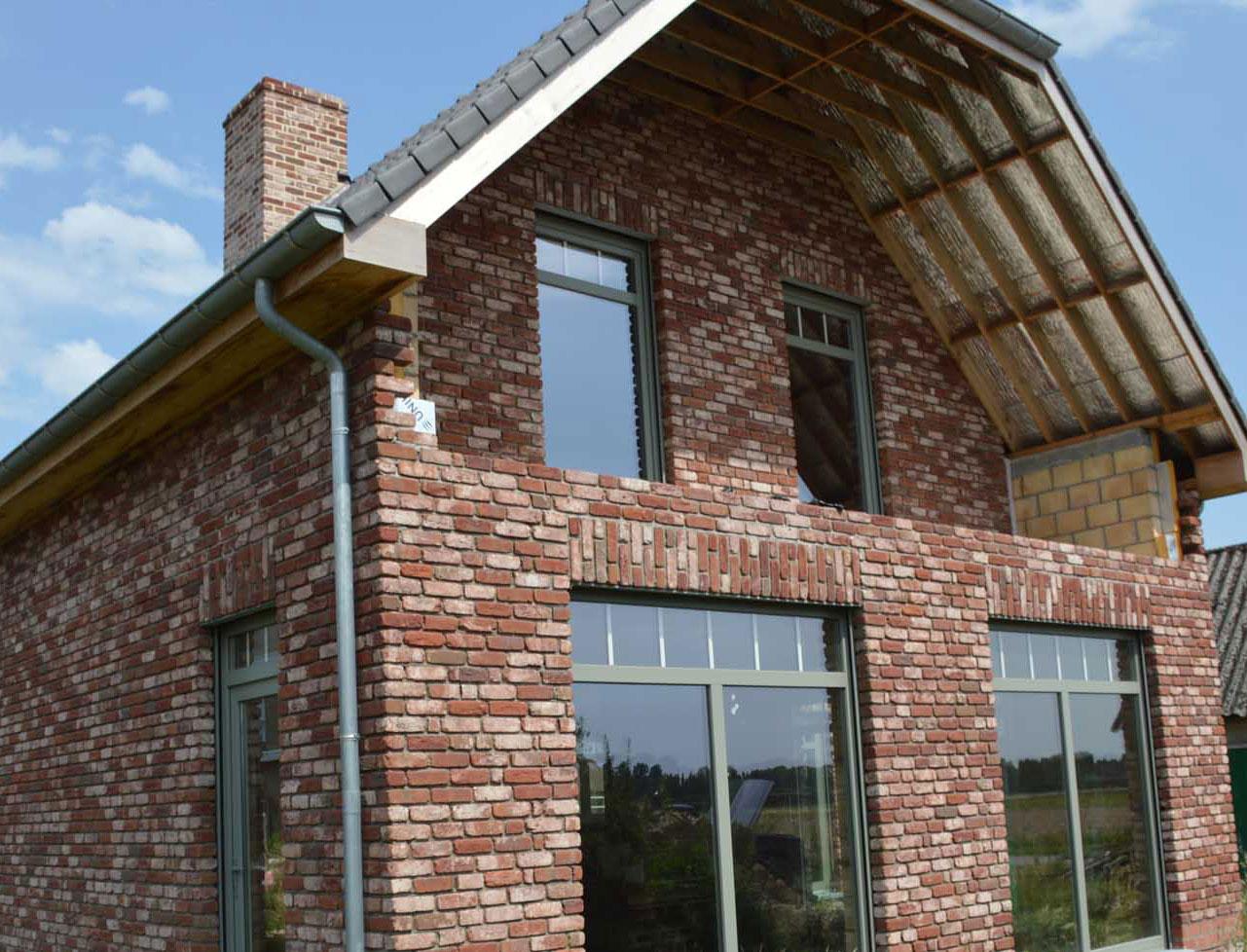 brique de facade et plaquette de parement rustique vande. Black Bedroom Furniture Sets. Home Design Ideas