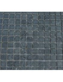 Promotion for 20 meters square mosaic Black Pearl 23 / 23mm on net