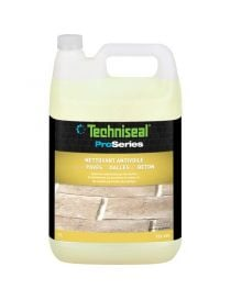 Cleaning antivoile - pavers and slabs of concrete - Techniseal