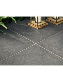 Ceramic slab - Ceranita Ardena Black - Marshalls
