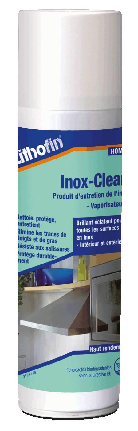HOME Inox-Clean - Pflege von Edelstahloberflächen - Lithofin