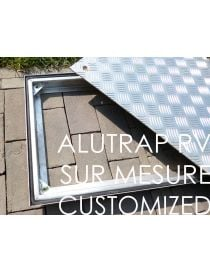 Galvanized steel frame and waterproof aluminum cover - CUSTOMIZED