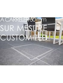 Recessed access cover - Height 50 mm - Customized - Rosco
