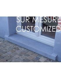 Door sill and window sill - Stonecutter - Belgian Bluestone - CUSTOMIZED