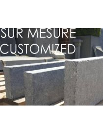 Kerb - Belgian Bluestone - CUSTOMIZED