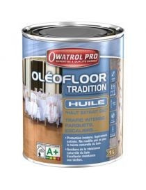 OléoFloor Tradition - sustainable oil for parquet and wooden stairs - Owatrol Pro