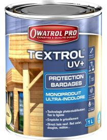 Textrol UV+ - Protection de bardages en bois - Owatrol Pro