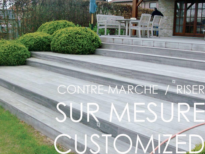 Ajouter Des Contre Marche Escalier contre-marche d'escalier en céramique sur mesure