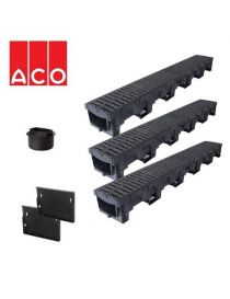 Kit channel drains for garage 3 meters - 3M B125 - ACO