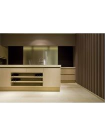 Pierre white Thala Beige - softened kitchen tiling
