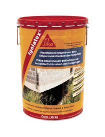 Igolatex - bituminous coating for foundations - Sika