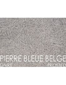 Slab of stone Belgian Blue - frosted