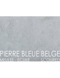 Covers the walls and foundation walls in stone Belgian Blue - Ecure