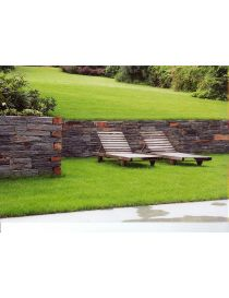 Using the Belfort split stone masonry retaining walls