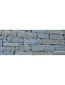 Wall of stone of Luserne bars - living-water-color