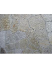 Giant Luserne stone - mixed colors mosaic