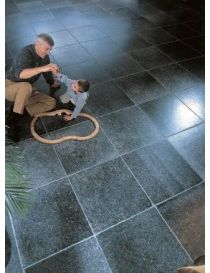 Realization in stone Belgian Blue - Enostyl® dark