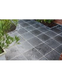 Outdoor stone ground blue Belgian Soignies black