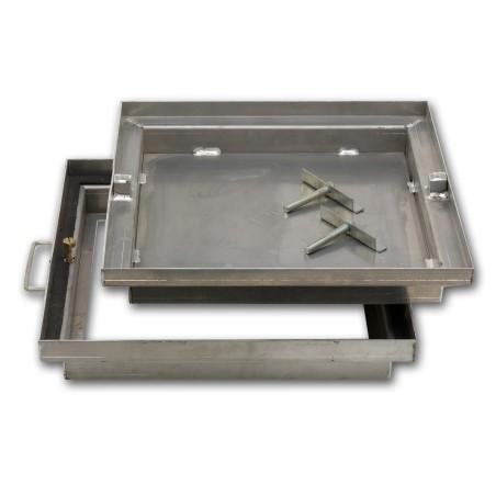 Couvercle aluminium à carreler