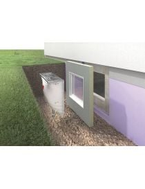 THERM, element white pvc tilt at ACO