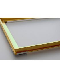 Proma-MS - Recessed doormat frame in brass - Rosco