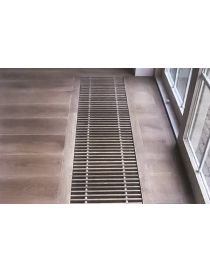 Roll-up floor grid in natural wood - Rost HT - Rosco