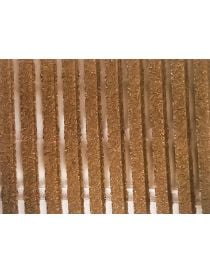 Grating of bath ROST BM, material Cork, rollable, slip-resistant, hygienic home ROSCO