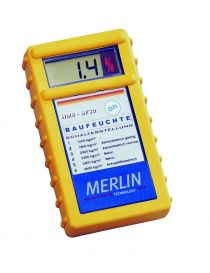 Hygrometer to measure the humidity of the materials of construction at Merlin