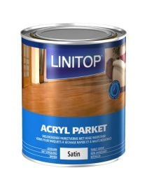 "LINITOP ACRYL PARKET SATIN lacquer special ""normal traffic to intense"" at LINITOP"