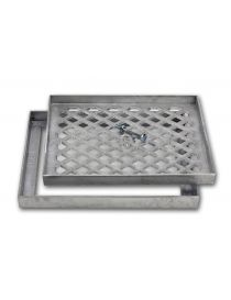 Cover of pavement slabs aluminum