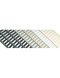 Channel drain with tinted steel grating - Euroline 100 Harmony - ACO