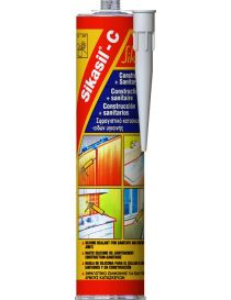 Sikasil-C - Neutral silicone fungicide sealant - Sika