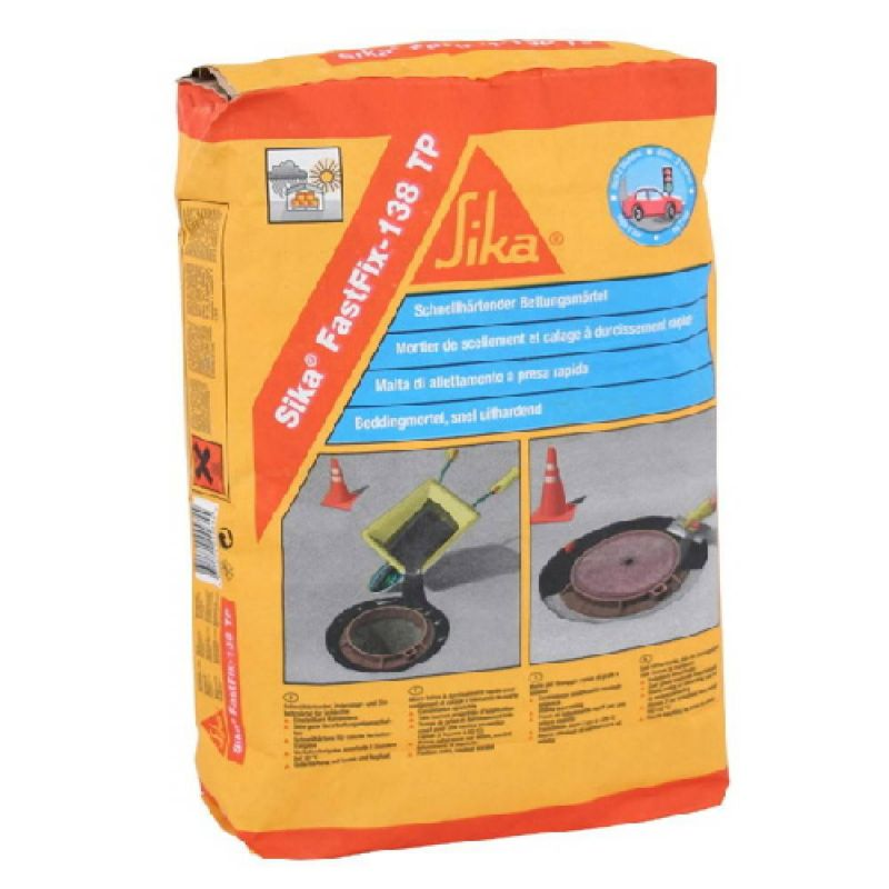 Sika FastFix-138 FTP - Micro-concrete for road elements - Sika